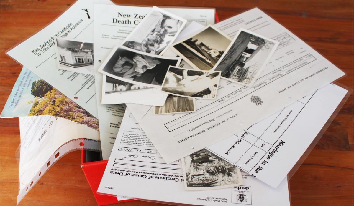 GENEALOGY | www.bindery.co.nz
