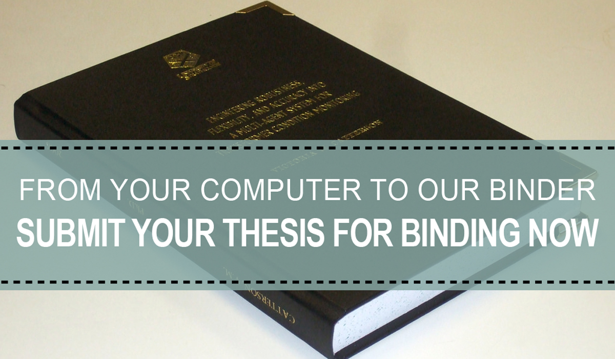 Submit Your Thesis